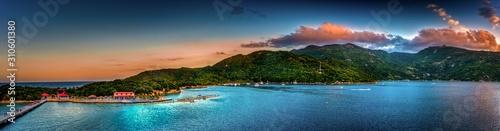 Fotografie, Obraz Port of Labadee Haiti