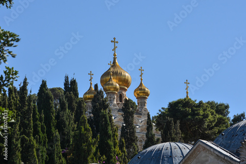Photo Church of St. Mary Magdalene in Gethsemane.