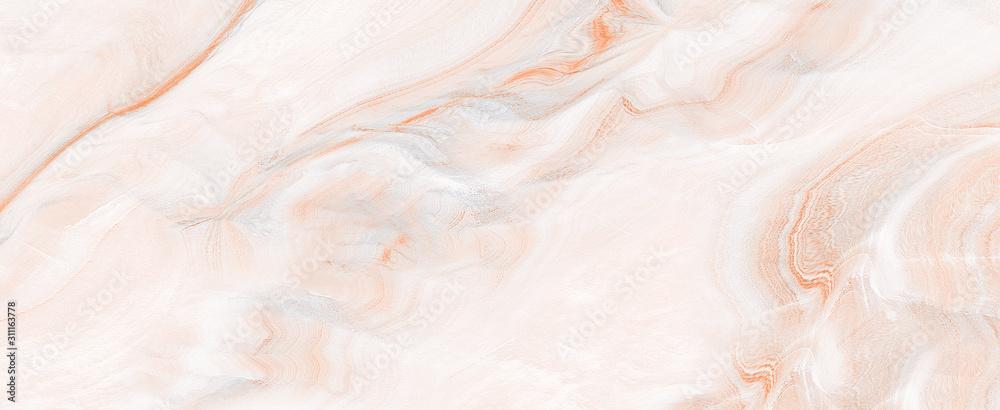 Polerowany marmur z wysokiej rozdzielczości, brązowym odcieniem marmuru cesarza, naturalną agatową powierzchnią z kamienia brekcji, nowoczesnym włoskim marmurem do dekoracji wnętrz na zewnątrz i płytek ceramicznych. <span>plik: #311163778 | autor: Stacey Xura</span>