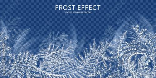 Obraz na płótnie Frost Effect Background
