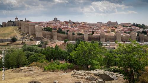 Panorámica de la ciudad de Ávila
