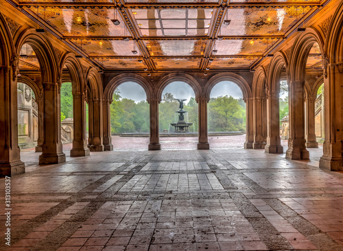 Foto Bethesda Terrace and Fountain