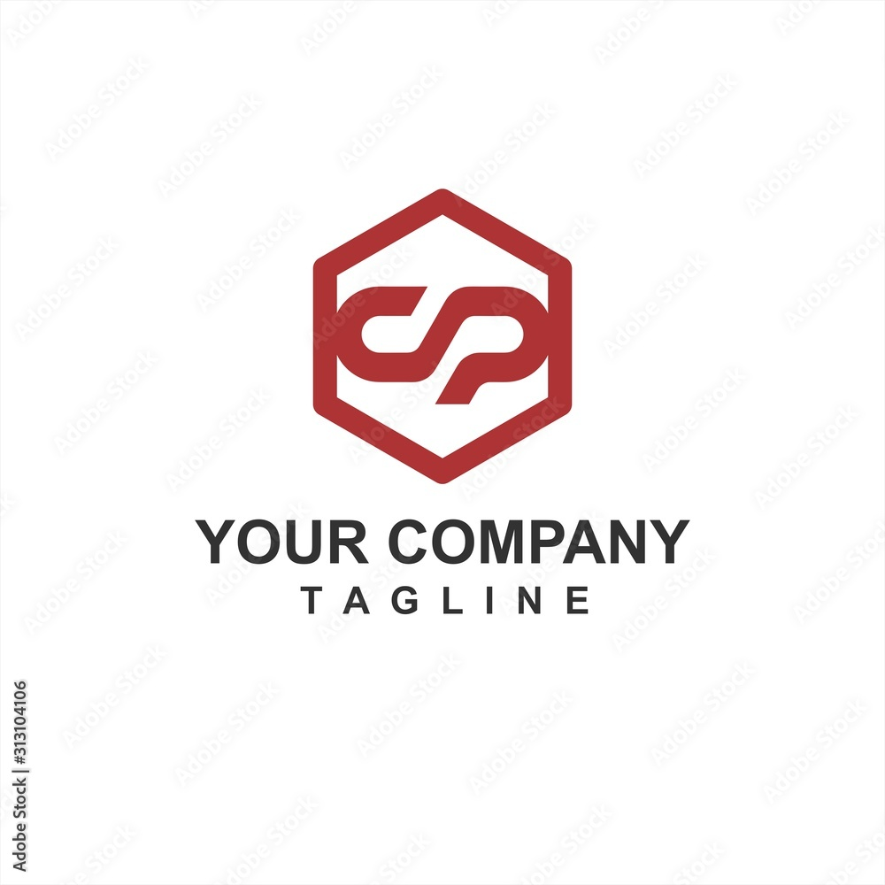Obraz S, SO, OS initial geometric letter company vector logo and icon fototapeta, plakat