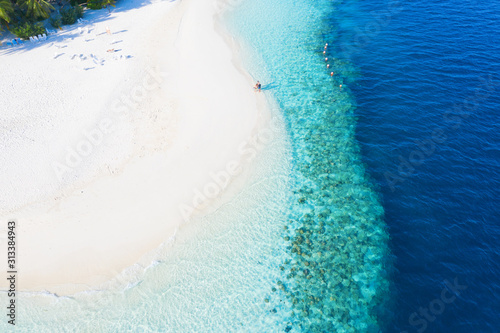 Obraz na płótnie Maldives