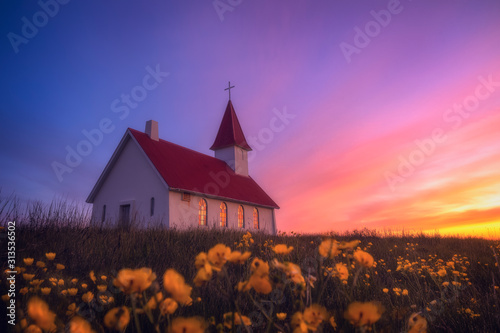Fotografija church at early Morning