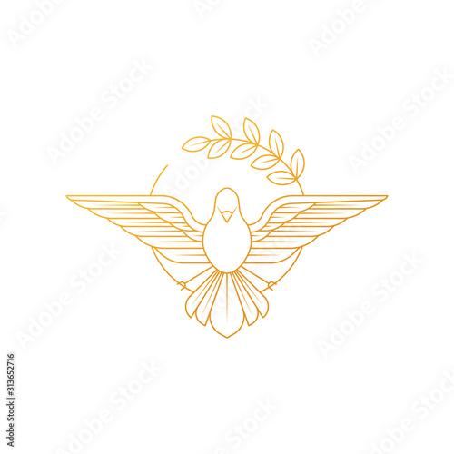 Obraz na płótnie Dove Of Peace