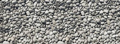 Fotografia pebbles background. Banner texture