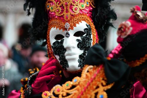 Obraz na plátně the colors of the carnival