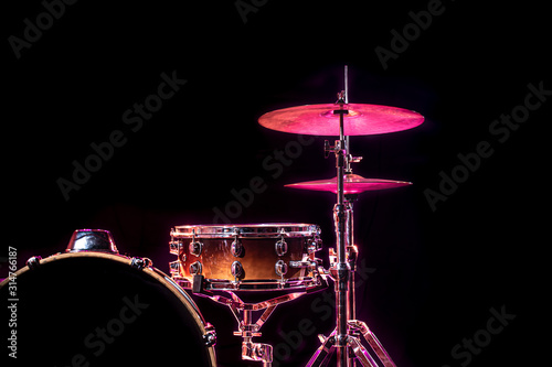 Fotografia Drums and drum set