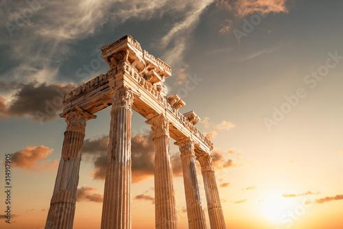 Fotografia Amazingly Temple of Apollon ancient ruins