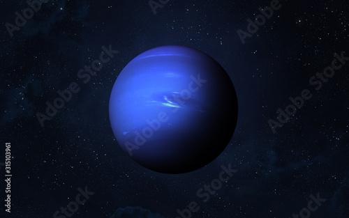 Fotografia Planet Neptune.
