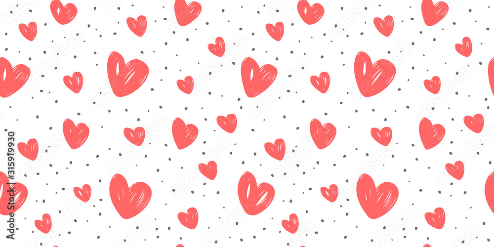 Abstract background with hearts. Love, wedding vector <span>plik: #315919930 | autor: ~ Bitter ~</span>