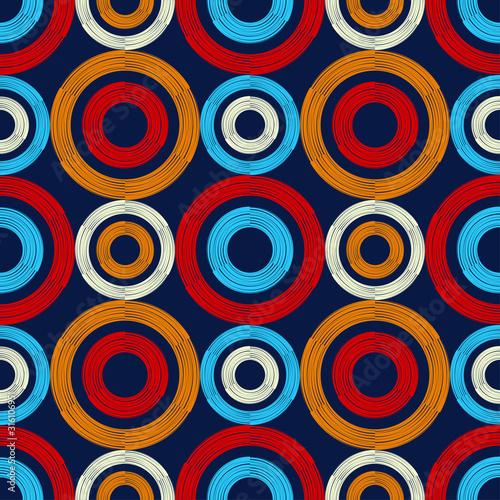Plakat Kolorowe Koła