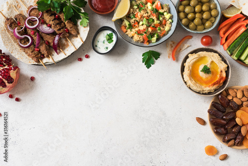 Tableau sur Toile Arabic and Middle Eastern dinner