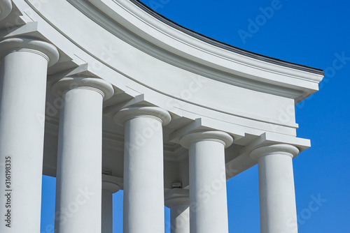 Fotomural Shot of the beautiful Vorontsov's colonnades in Odessa