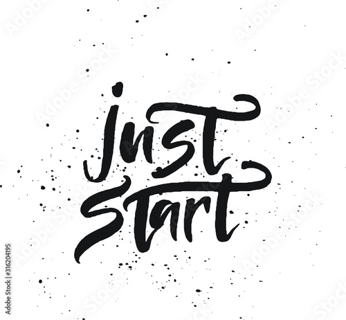 Photo Just start