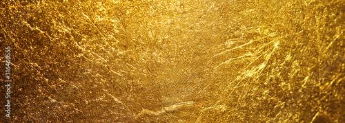 Billede på lærred gold texture used as background