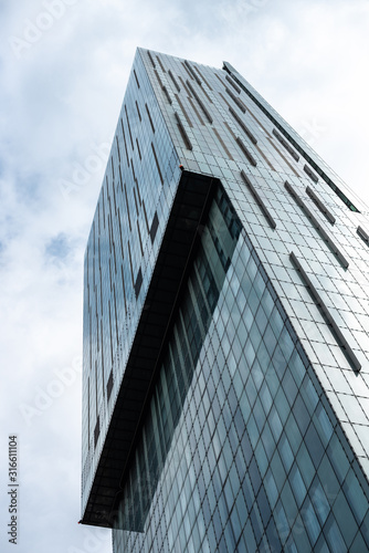 Fotografering MANCHESTER, UK Beetham Tower in Manchester, UK