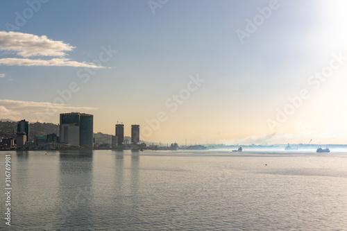 Fotografia, Obraz Port of Spain, Trinidad and Tobago - The waterfront