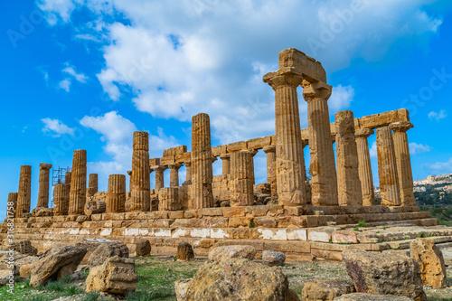Photographie Temple of Juno (Tempio di Giunone) Hera