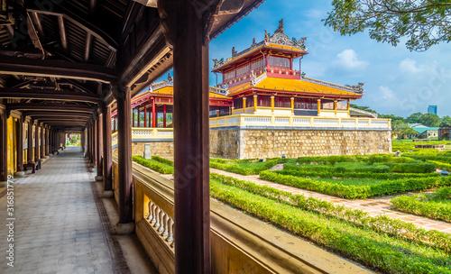 Foto Views on Imperial Royal Palace Hue, Vietnam