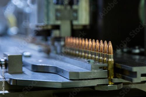Fotografija Production bullet for automatic rifle