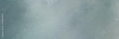 horizontal abstract painting background texture with light slate gray, dim gray and pastel blue colors. free space for text or graphic