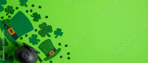 Obraz na płótnie St Patrick's Day banner design