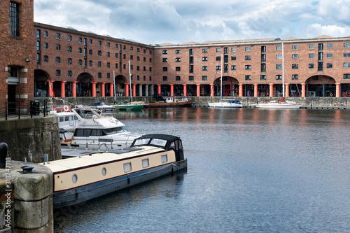 The Royal Albert Dock at Liverpool Fototapeta