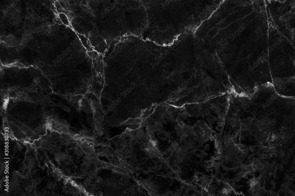 Czarny szary marmur tekstura tło o wysokiej rozdzielczości, widok z góry naturalnego kamienia płytki w bezproblemową brokat i luksusowe. <span>plik: #318830733 | autor: Nattha99</span>