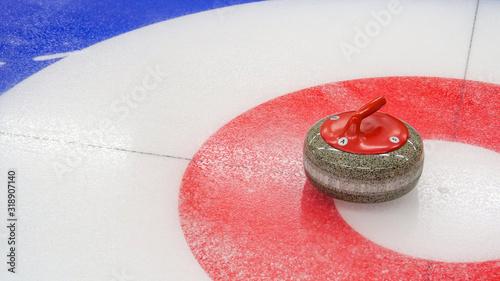 Cuadros en Lienzo Curling winter, olympic sport