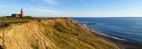 Photo Lighthouse in Denmark. Bovbjerg Fyr.