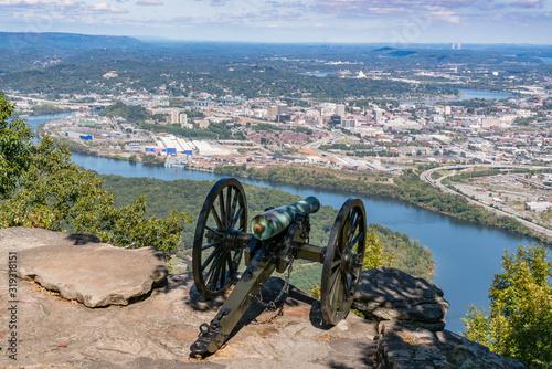 Skyline of Chattanooga, Tennessee Tapéta, Fotótapéta