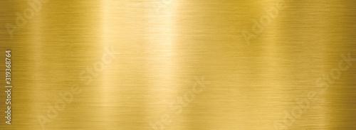 Fotografering golden metal brushed wide textured plate