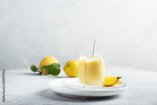 Canvas Print Sweet lemon curd