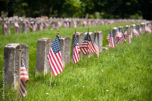 Fotografia, Obraz American Civil War cemetery