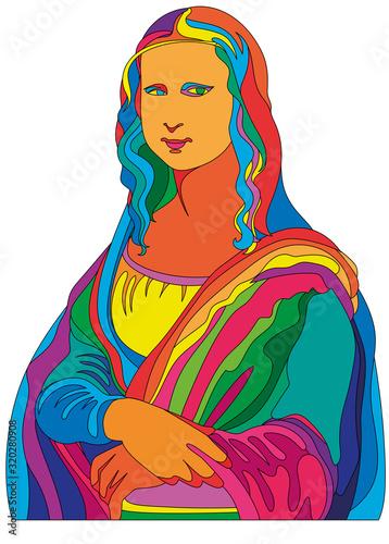 Obraz na plátně Leonardo da Vinci painting