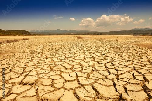 Wallpaper Mural Drought land