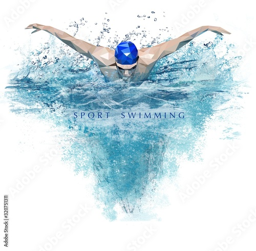 Photo Sport swimming
