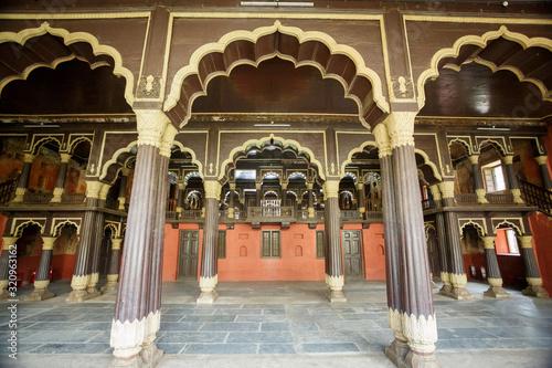 Obraz na plátně Tipu Sultan summer palace, Bangalore