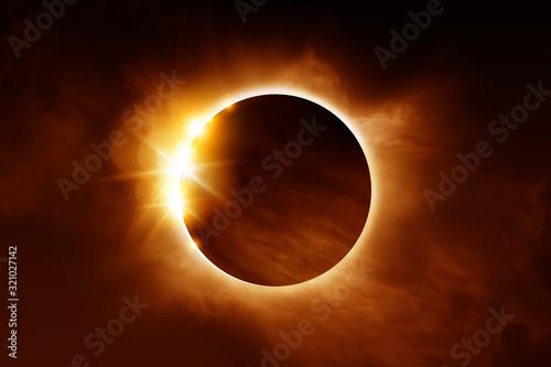 Fotografia A solar eclipse