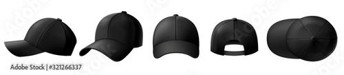 Fotografie, Obraz Black cap mockup
