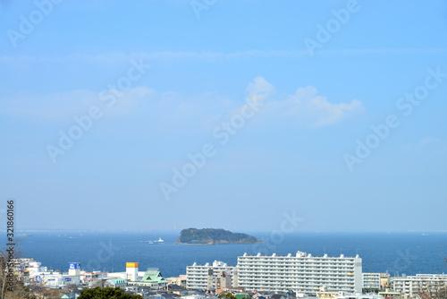 Fotografia, Obraz 猿島 神奈川県横須賀市池田町の風景 日本