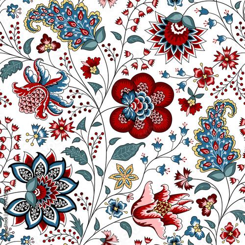 Fototapeta Chintz seamless pattern