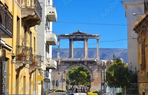 Valokuva Hadrians Arch Athens Greece