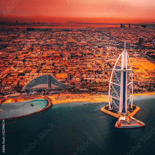 Obraz na płótnie Burj Al Arab Hotel