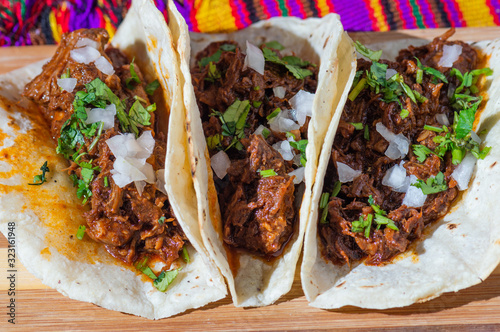 Photo Mexican Beef Barbacoa Stew, Traditional Mexican Food