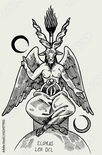Photo Baphomet demon