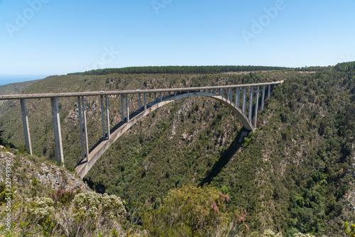 Obraz na płótnie Bloukrans Bridge, Eastern Cape, South Africa