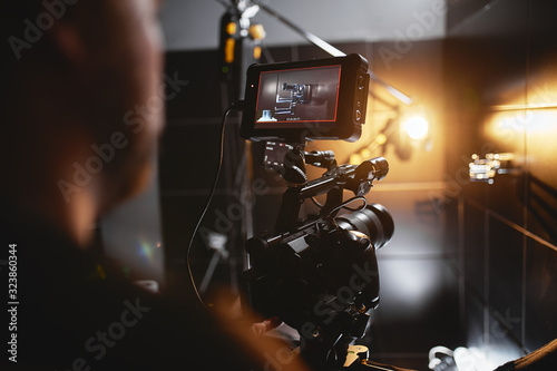 Fotografering Video production backstage